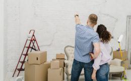 Construction Et Rénovation Habitat Homme Pointant Mur Pour Femme 23 2147758696
